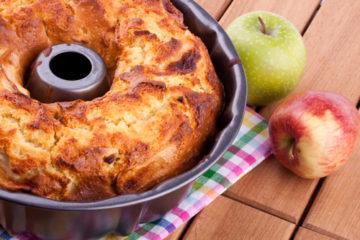 Jablečná bábovka