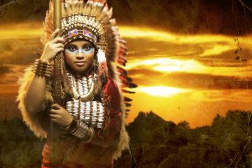 Jak vyrobit kostým indiána