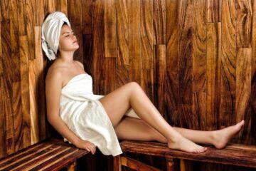 Parní sauna pro upevnění zdraví