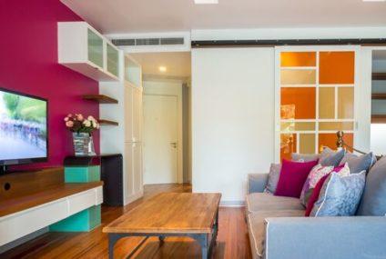 Barevné tipy, jak vymalovat obývací pokoj