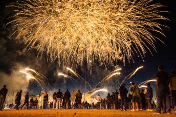 Co by nemělo chybět na žádné pořádné oslavě či svatbě? zábavní pyrotechnika!