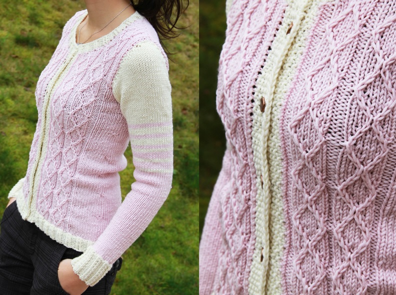 Pletený svetr