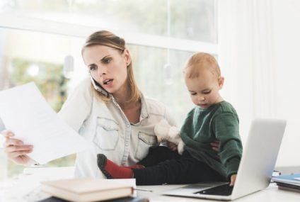 Tipy na práci vedle mateřské dovolené