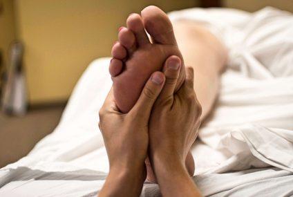 Tipy na reflexní masáž chodidel
