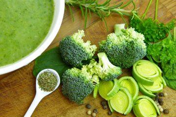 Chutná brokolicová polévka se smetanou